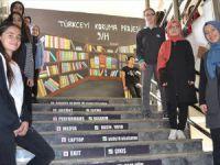 Türkçe Sevgisi Okul Duvarlarını Süsledi