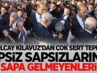 OLCAY KILAVUZ'DAN ÇOK SERT TEPKİ: İPSİZ SAPSIZLARIN, İPE SAPA GELMEYENLERİN...