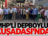 MHP'li Deniz Depboylu Kuşadası'nda