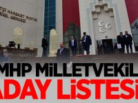 2018 MHP milletvekili adayları belirlendi! 27. dönem MHP milletvekili aday listesi