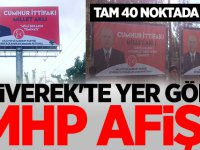 Siverek'te yer gök MHP afişi…
