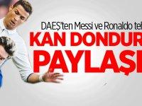 DAEŞ'ten Messi ve Ronaldo tehdidi! Kan donduran paylaşım