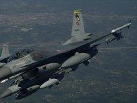 F-16'lar 8 Teröristi Etkisiz Hale Getirdi