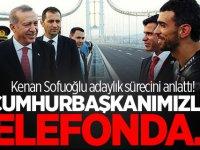 Kenan Sofuoğlu adaylık sürecini anlattı! 'Cumhurbaşkanımızla telefonda...'