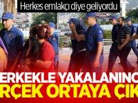 Antalya'da herkes emlakçı diye geliyordu... 9 erkekle yakalanınca gerçek ortaya çıktı!