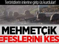 Teröristlerin inlerine girip üs kurdular! Mehmetçik nefeslerini kesti