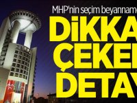 MHP'nin seçim beyannamesinde dikkat çeken detay