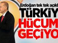 Erdoğan tek tek açıkladı! Türkiye hücuma geçiyor