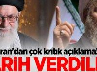İran'dan çok kritik açıklama! Tarih verdiler