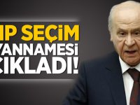 MHP seçim beyannamesi açıkladı