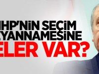 MHP'nin seçim beyannamesine neler var?