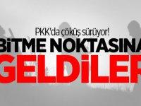 PKK'da çöküş sürüyor! Bitme noktasına geldiler