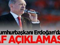 Cumhurbaşkanı Erdoğan'dan Flaş af açıklaması