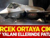 Gerçek ortaya çıktı! 'F35' yalanı ellerinde patladı!