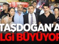 MHP'li Muhittin Taşdoğan'a ilgi büyüyor