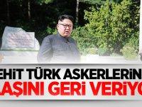 Şehit Türk Askerlerinin naaşını geri veriyor!
