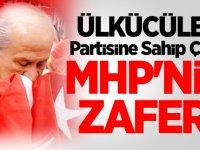 Ülkücüler Partisine Sahip Çıktı! MHP'nin zaferi