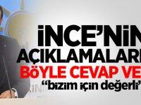 AK Parti'den 'Muharrem İnce' açıklaması