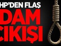 MHP'den flaş idam çıkışı