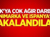 PKK'ya çok ağır darbe: Danimarka ve İspanya'da yakalandılar