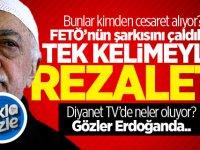 Bunlar kimden cesaret alıyor? TRT'de FETÖ'nün şarkısını çaldılar