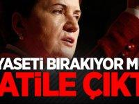 Meral Akşener siyaseti bırakıyor mu?