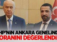 MHP'nin Ankara genelinde oy oranını değerlendirdi