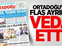 Ortadoğu Gazetesi'nde flaş ayrılık! Veda etti