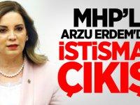 MHP'li Arzu Erdem'den istismar çıkışı