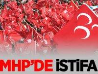 MHP'de istifa! Görevi bıraktığını sosyal medyadan partililere böyle duyurdu