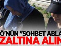 """FETÖ'nün """"sohbet ablası"""" gözaltına alındı"""