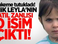 Mahkeme tutukladı! Minik Leyla'nın katil zanlısı o isim çıktı!