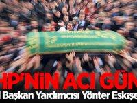 MHP'nin acı günü! MHP Genel Başkan Yardımcısı Yönter Eskişehir'de