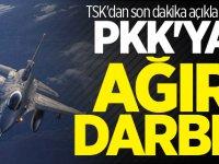 TSK açıkladı! PKK'ya çok büyük darbe