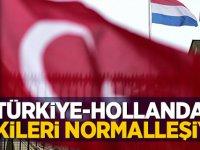 Türkiye ve Hollanda ilişkileri normalleşiyor