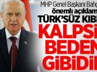 MHP Genel Başkanı Bahçeli'den önemli açıklama: Türk'süz Kıbrıs kalpsiz beden gibidir