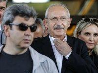 Kılıçdaroğlu pankartı görünce gözlerine inanamadı