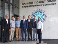 MHP Kayseri Milletvekili İsmail Özdemir'den Kto'ya Ziyaret