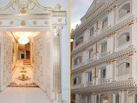 Bu bina Malatya'da! Altın kaplama...