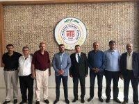 MHP Malatya İl Başkanı Avşar MTB Başkanı Özcan! ziyaret