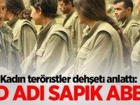 Kadın teröristler dehşeti anlattı