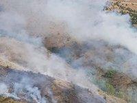 Elmadağ'daki orman yangını, 6 saatte söndürüldü