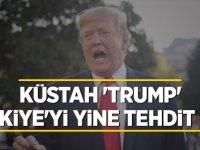 Trump'tan bir Türkiye tehdidi daha!
