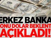 Merkez Bankası'ndan dolar açıklaması!