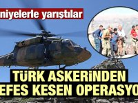 Türk askerinden nefes kesen operasyon