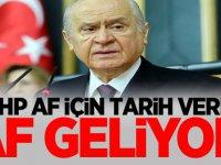 MHP af için tarih verdi: AF GELİYOR