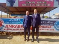 Olcay Kılavuz; Avrupa Türk Federasyonuna teşekkür Etti