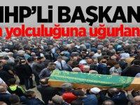 MHP İlçe Başkanı son yolculuğuna uğurlandı
