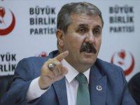 Destici: Türkiye'nin Oradan Çekilmesi Söz Konusu Edilmemeli