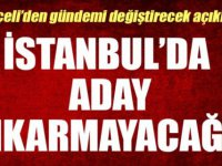 """MHP: """"İstanbul'dan aday çıkarmayacağız"""""""